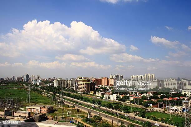 Aerial View Of Gurgaon