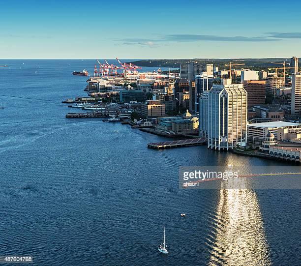Aerial View of Halifax Skyline