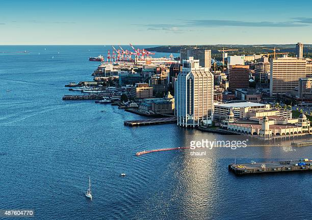Aerial View of Halifax Skyline