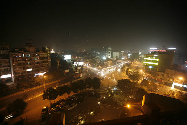 Aerial view of HighRise Buildings at Ludhiana in Punjab India