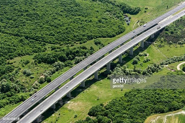 空から見た Highway