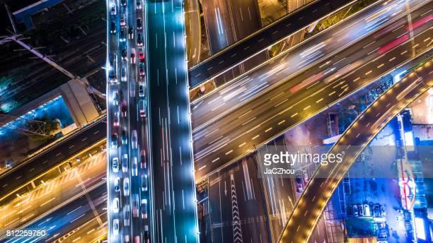 Luftbild des highway