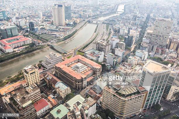 Aerial view of Ho Chi Minh City