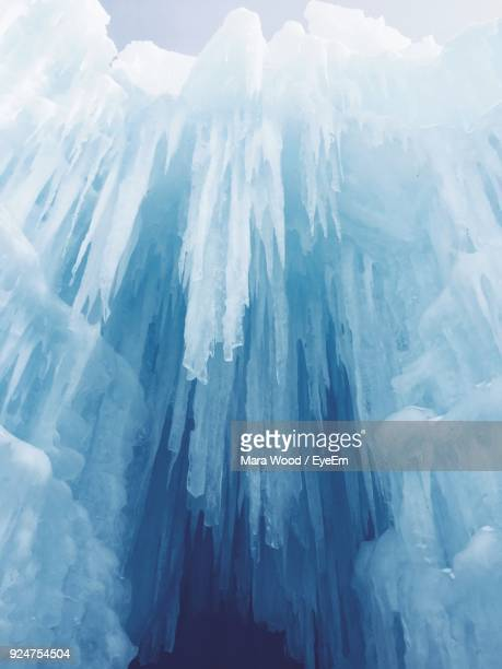 Aerial View Of Icicles
