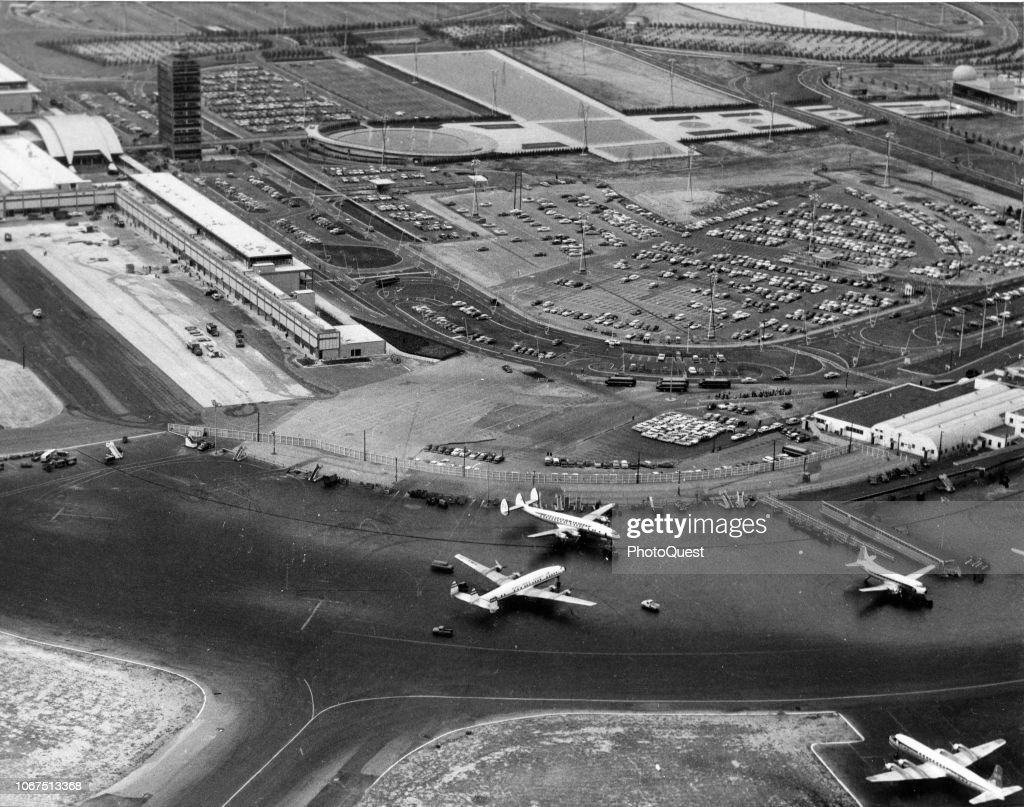 Aerial View Of Idlewild Airport New York New York December 1957