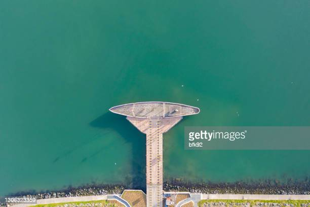 aerial view of independence road with bandirma ferry. - 1910 1919 stock pictures, royalty-free photos & images