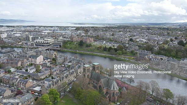 Aerial view of Inverness