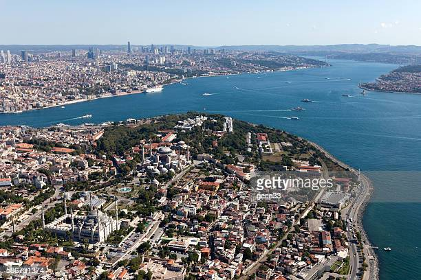 Aerial View of Istanbul City