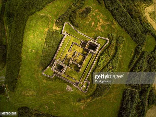 Aerial view of James Fort, Kinsale, Cork, Ireland