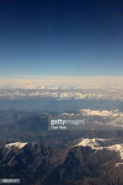aerial view of kaghan - yasir nisar stock photos and pictures