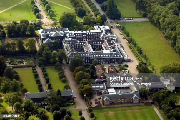 Aerial view of Kensington Palace London