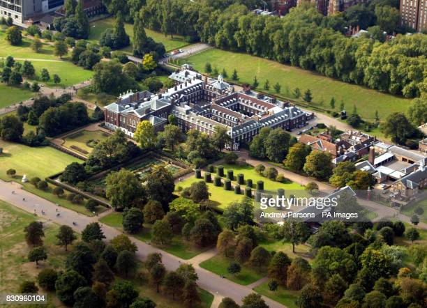 Aerial view of Kensington Palace September 2002