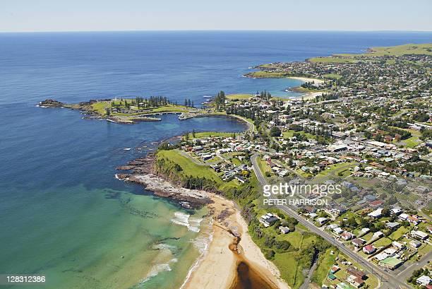 Aerial view of Kiama, NSW, Australia
