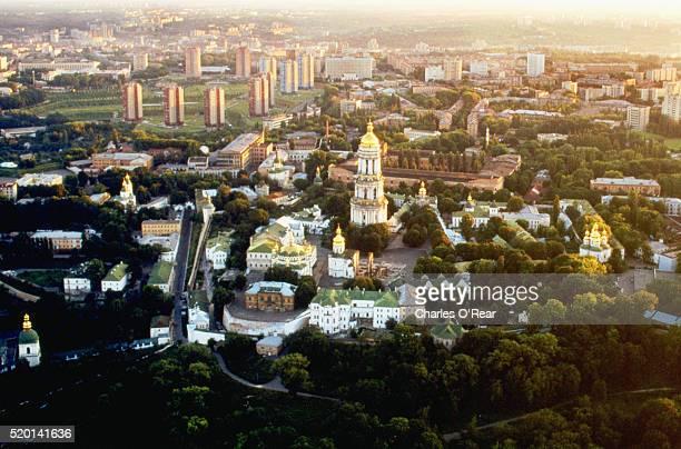 Aerial View of Kiev