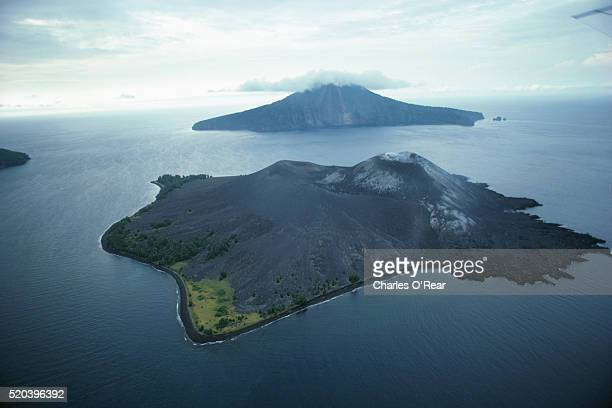 Aerial view of Krakatau