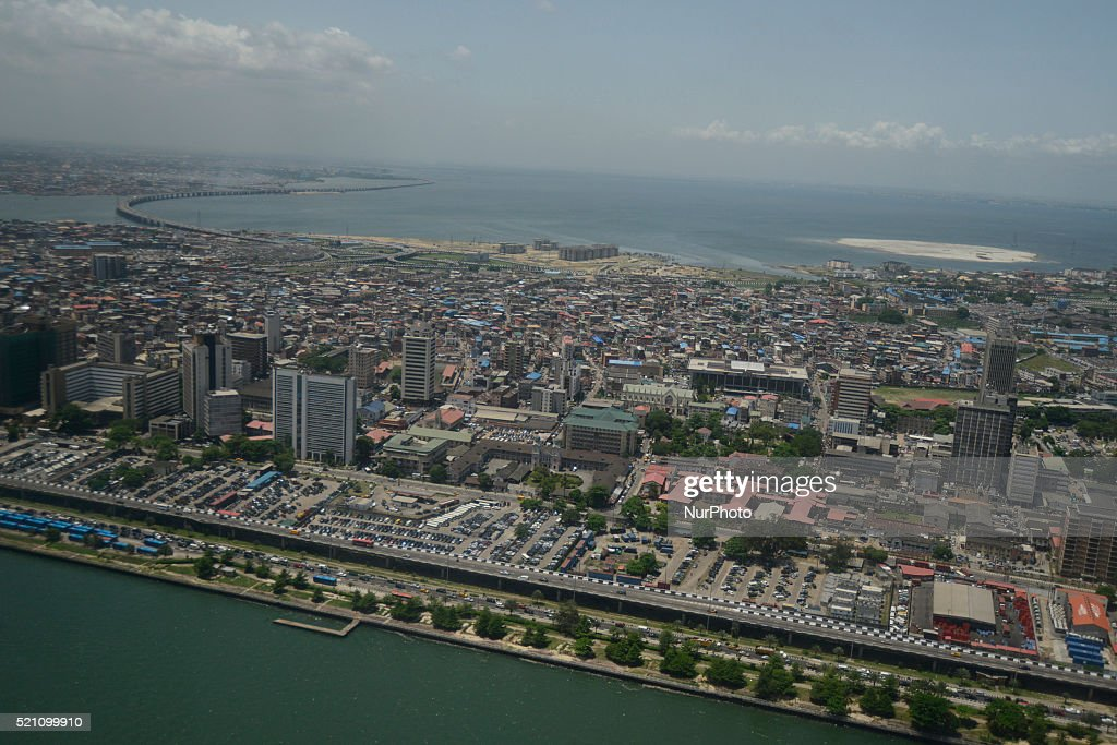 Aerial View of Lagos : News Photo