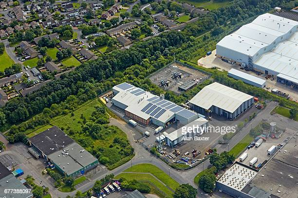 aerial view of lambton district of washington - factory stock pictures, royalty-free photos & images