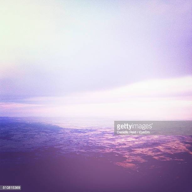 aerial view of landscape - danielle reid stock pictures, royalty-free photos & images