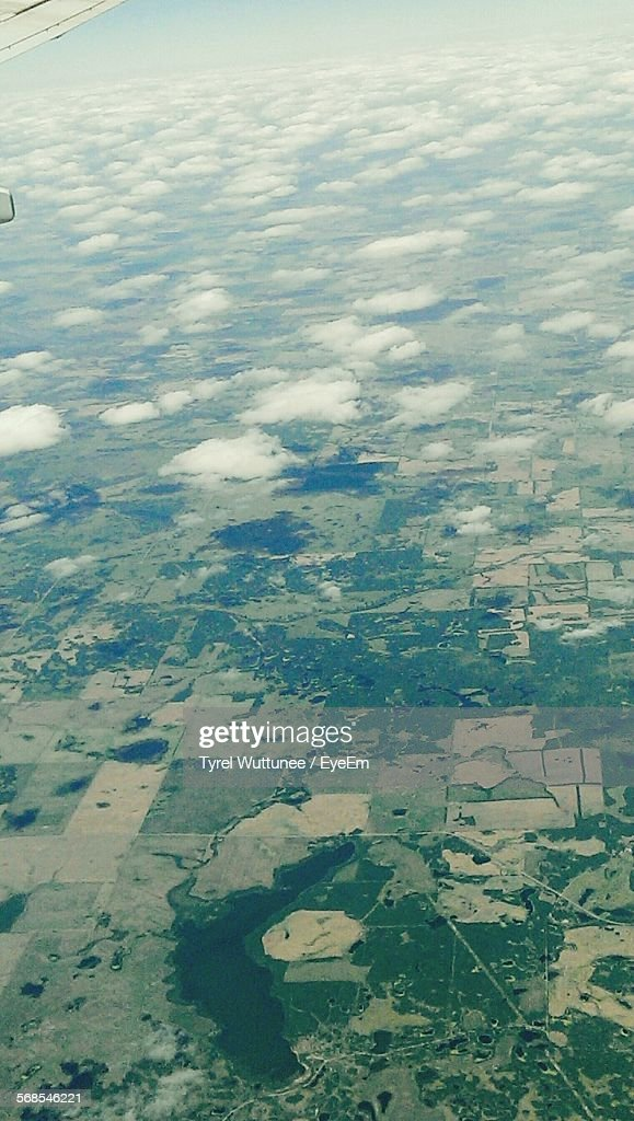 Aerial View Of Landscape : Stock Photo