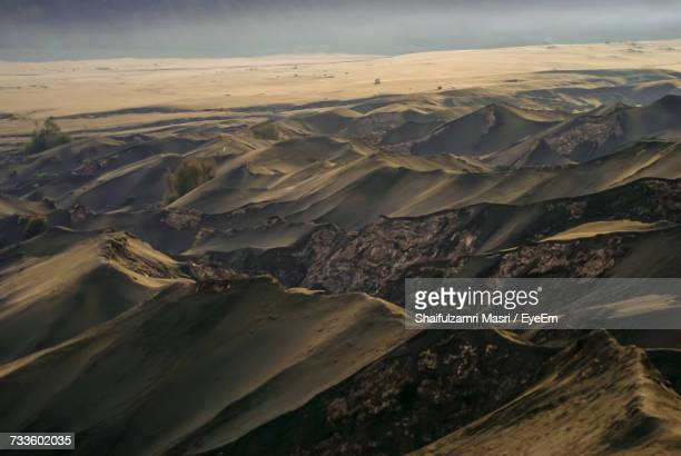aerial view of landscape - shaifulzamri stock pictures, royalty-free photos & images