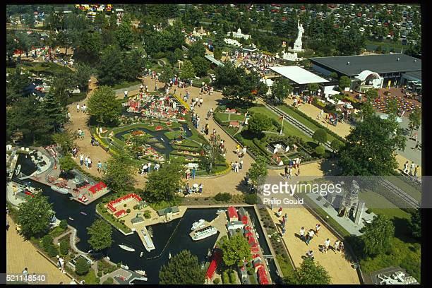 Aerial View of Legoland