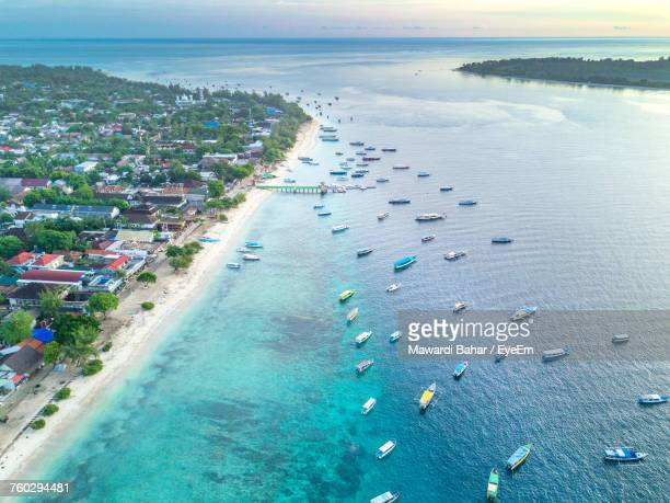 Aerial View Of Lombok Island