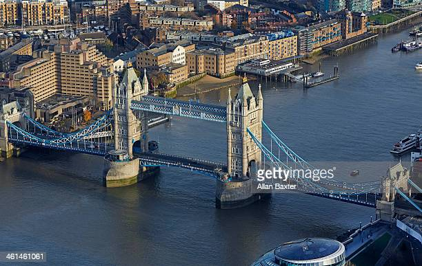 Aerial view of London Bridge