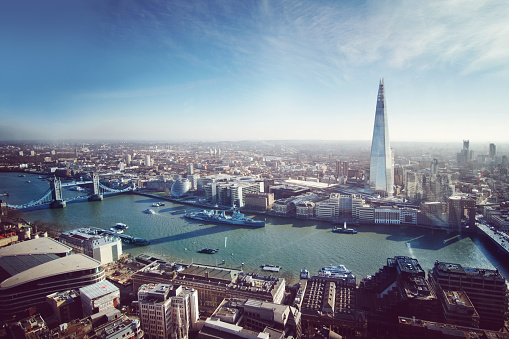 Aerial View of London 542315400
