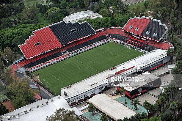 Aerial view of Marcela Bielsa Stadium home field of Newell's Old Boys on November 10 2014 in Rosario Argentina