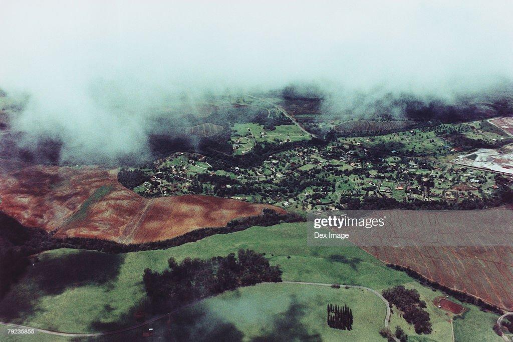 Aerial view of Maui, Hawaii, USA : Stock Photo