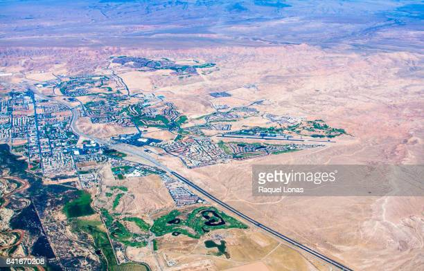 Aerial view of Mesquite, Nevada