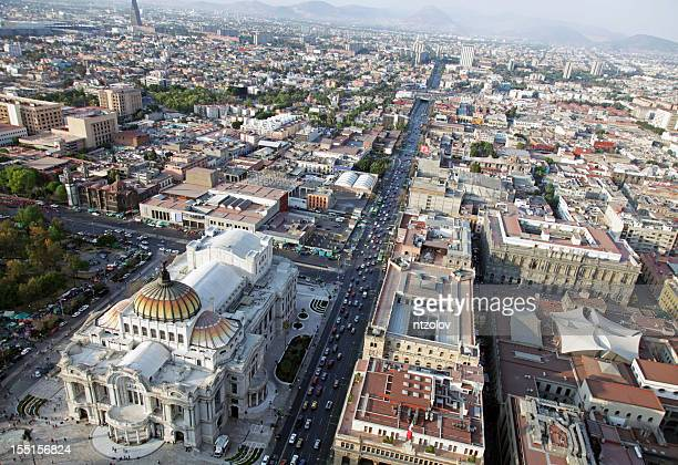 Aerial view of Mexico City, Mexico
