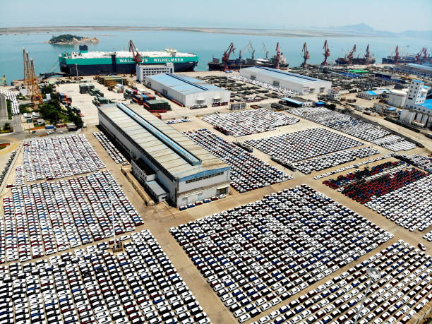 CHN: Vehicles Export In Lianyungang