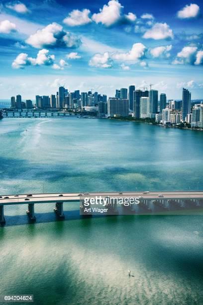 Luftbild von Miami Florida