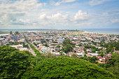 Aerial view of Monrovia, Liberia