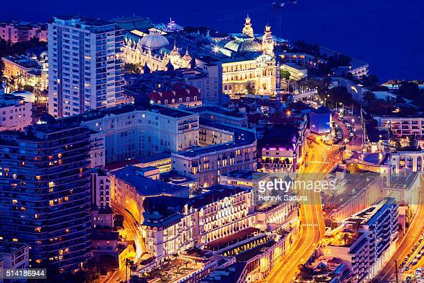 Aerial view of Monte Carlo