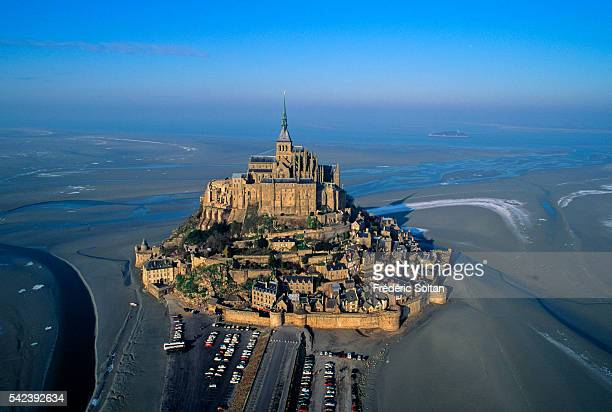 Aerial View of MontStMichel