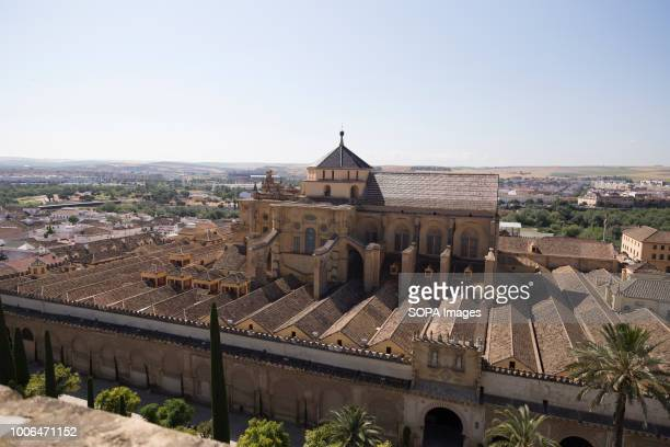 Aerial view of MosqueCathedral of Cordoba Córdoba was the capital of the Later Hispania in the times of the Roman Republic or of the Bética province...