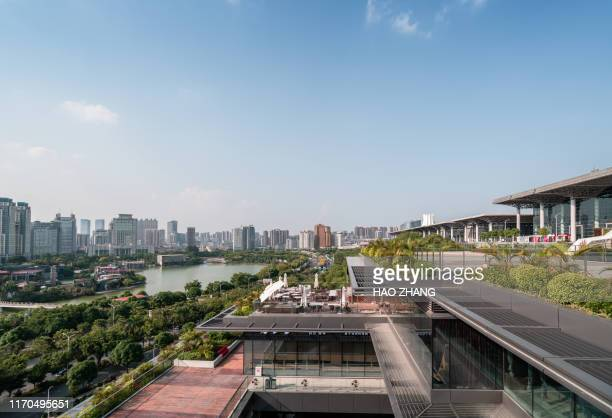 aerial view of nanning , china - association of southeast asian nations stock pictures, royalty-free photos & images