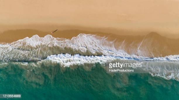 aerial view of newport beach, california - california imagens e fotografias de stock