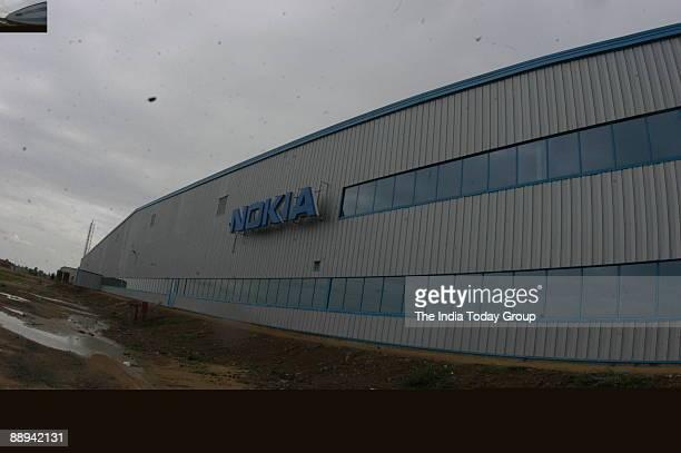 Aerial View of Nokia Plant at Sriperumbudur in Tamil Nadu India