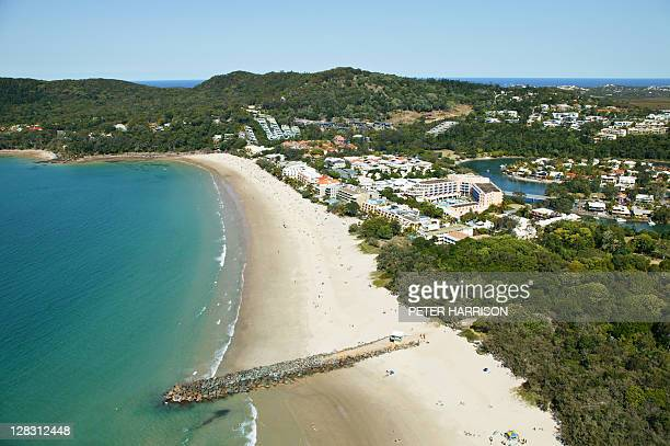 Aerial view of Noosa, Queensland, Australia