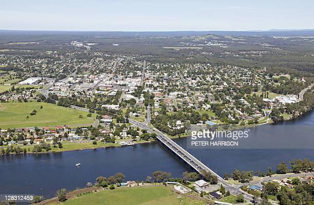 Aerial view of Nowra, NSW, Australia