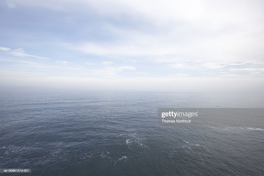 Aerial view of ocean : Stockfoto