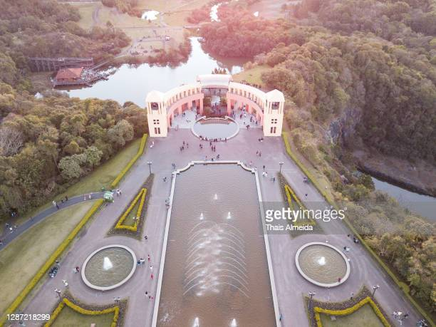 aerial view of parque tanguá - curitiba stock pictures, royalty-free photos & images