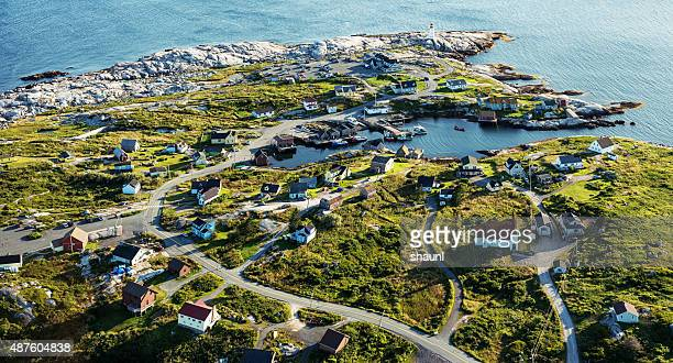 Aerial View of Peggy's Cove