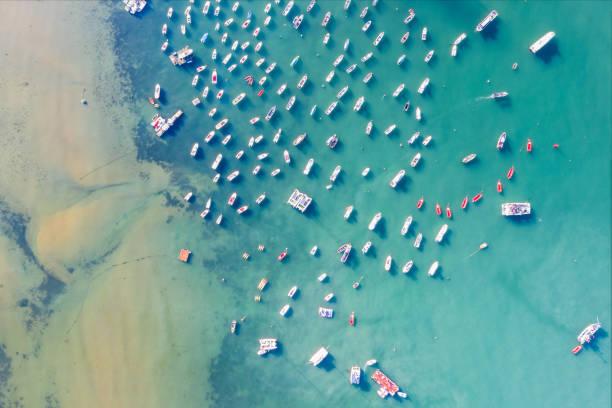 Aerial View of Pier, Qingdao City, Shandong Province, China
