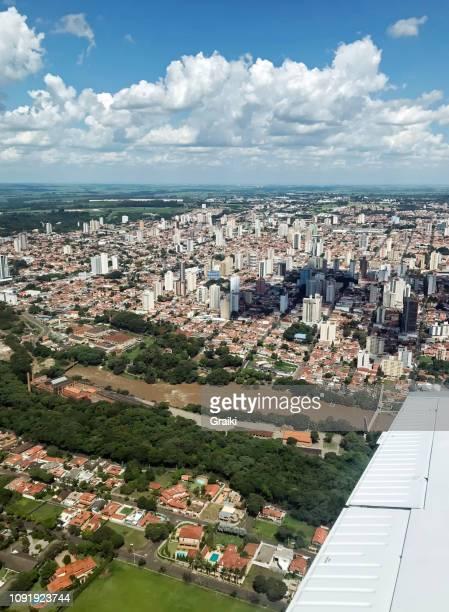 aerial view of piracicaba brazil - 中南米 ストックフォトと画像