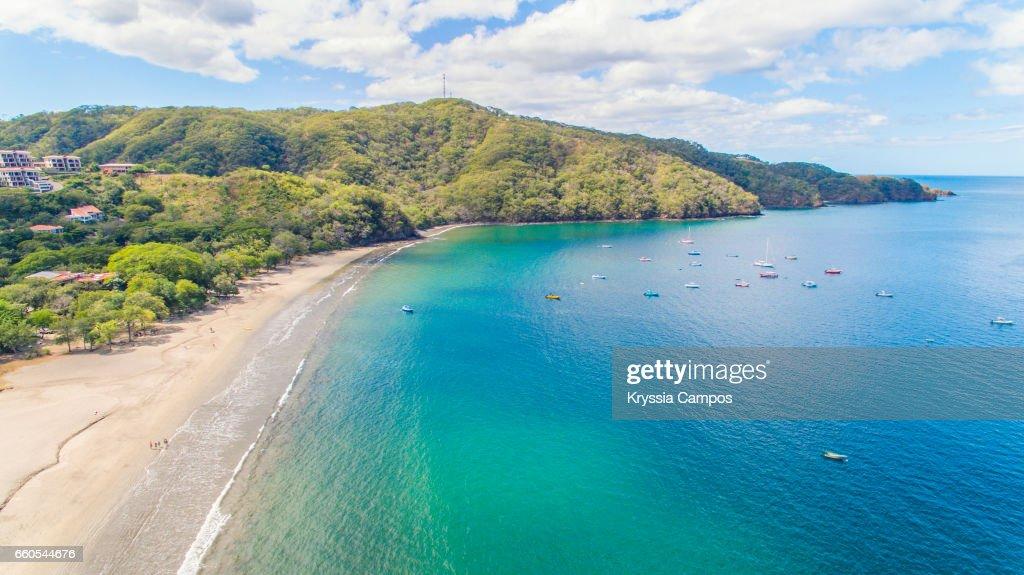 Aerial view of Playa Hermosa, Guanacaste, Costa Rica : Photo