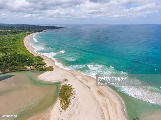 Aerial view of Playa Langosta, Guanacaste - Costa Rica